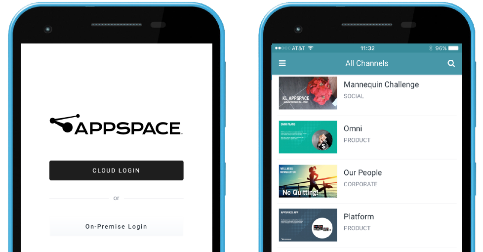 subscription appspace user login phone