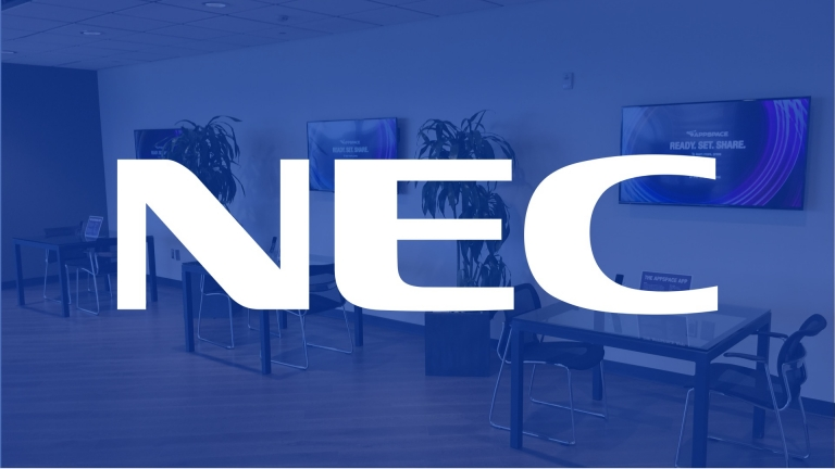 nec appspace showcase dallas