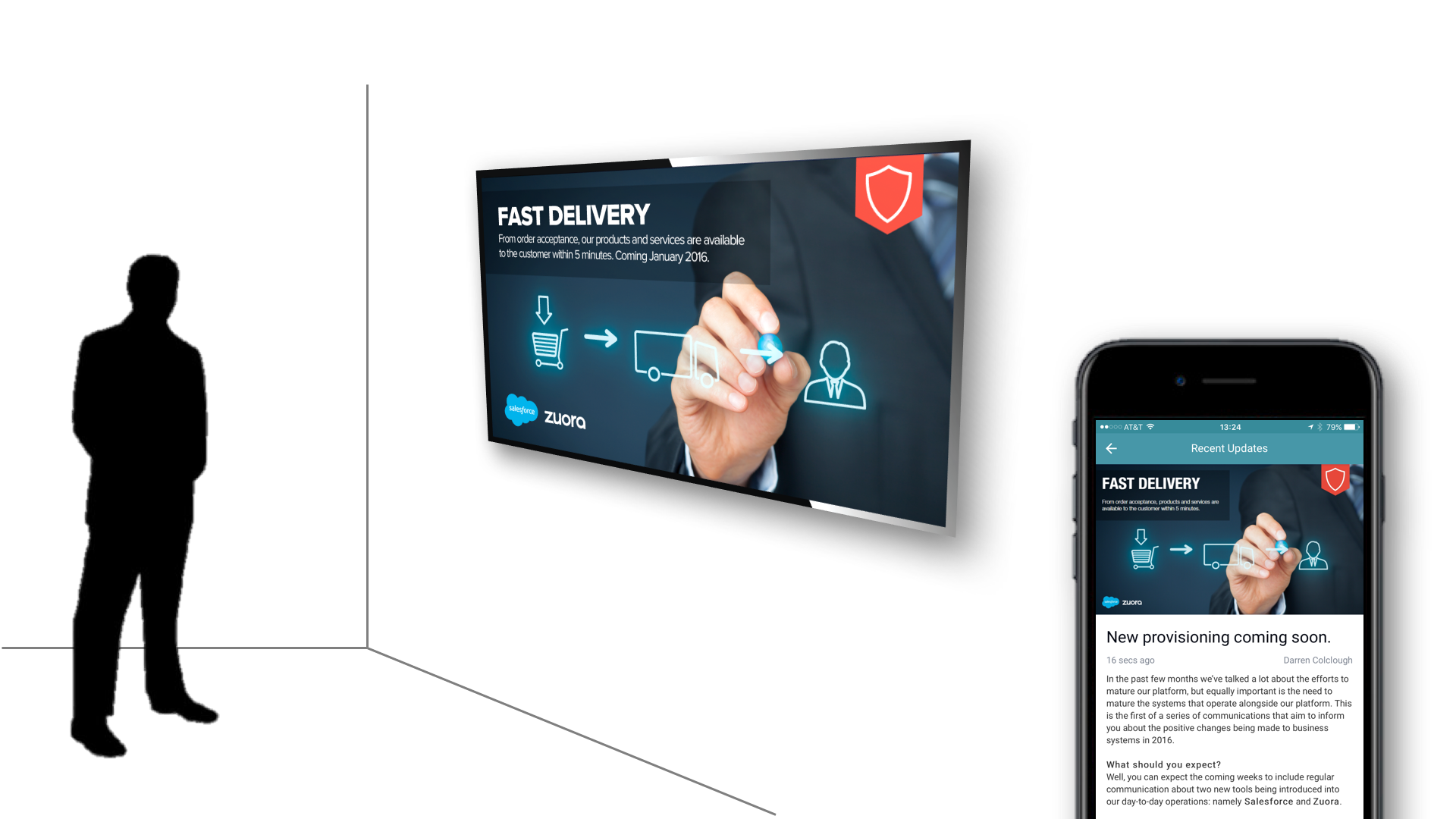 workforce communications appspace mobile digital signage