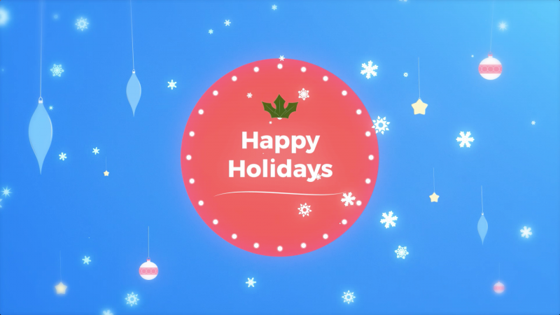 holidays happy appspace
