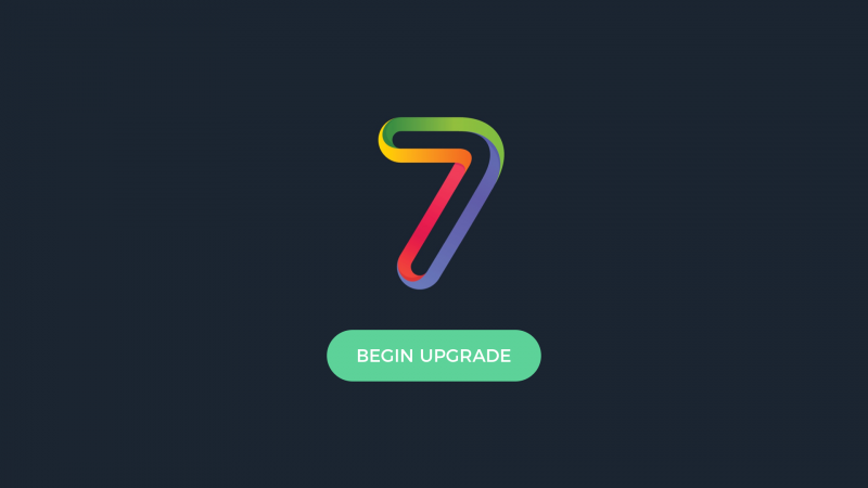 appspace 7 upgrade schedule plan