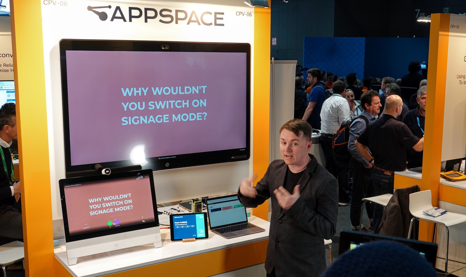 cisco collaboration signage mode alerts appspace singlewire