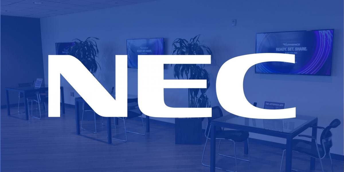 nec appspace showcase dallas