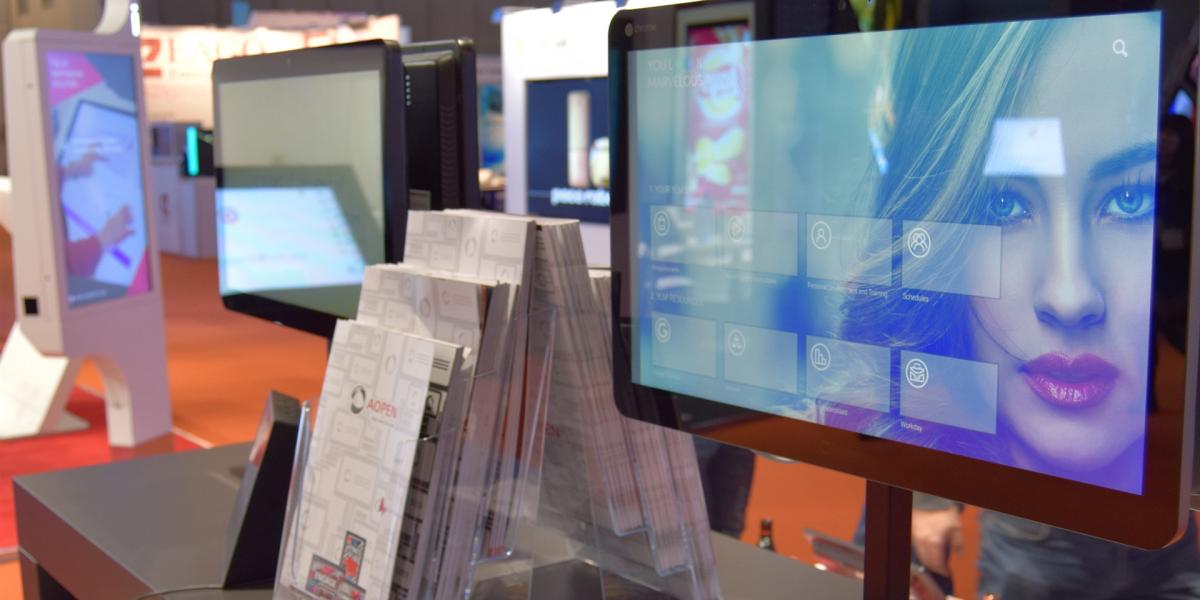 aopen appspace retail kiosk